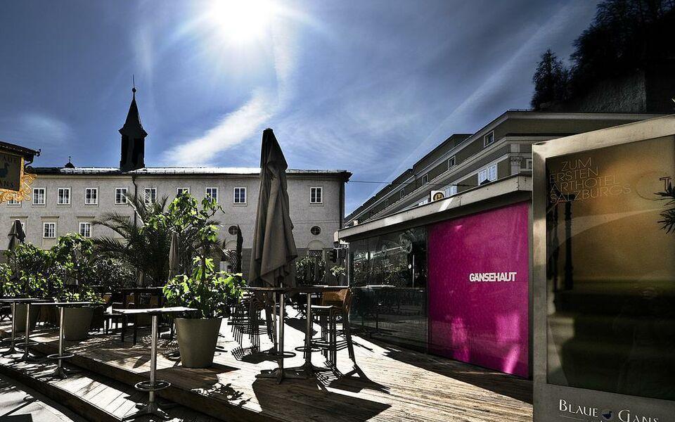 Arthotel blaue gans salzburg autriche my boutique hotel for Design boutique hotel salzburg