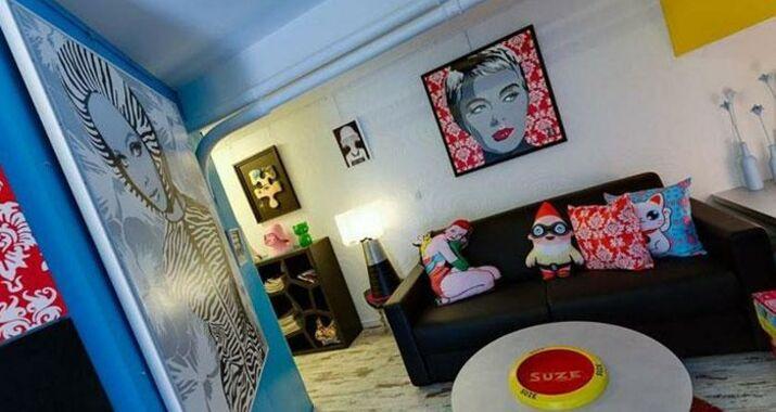 pop appart clermont ferrand france my boutique hotel. Black Bedroom Furniture Sets. Home Design Ideas