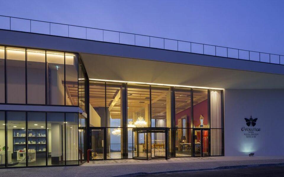 Evolutee hotel a design boutique hotel praia del rei for Design boutique hotels algarve