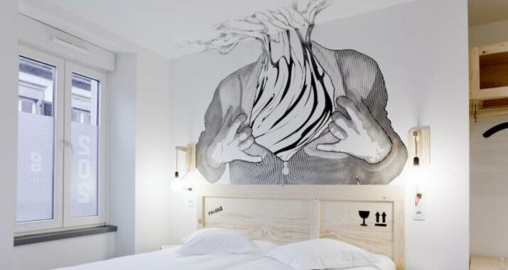 H tel graffalgar a design boutique hotel strasbourg france for Hotel design strasbourg