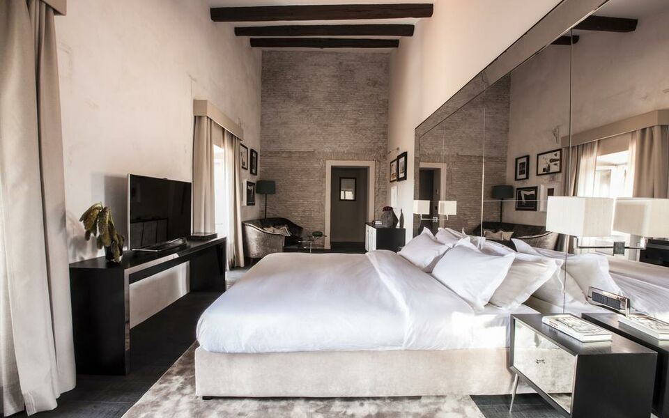 Dom hotel roma a design boutique hotel rome italy for Design hotel roma
