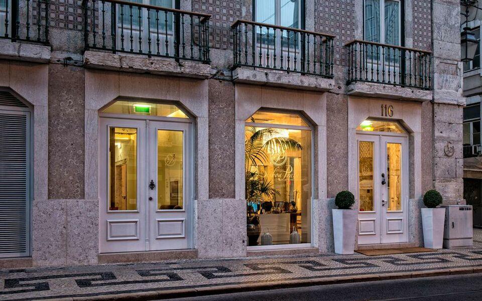 Lisboa prata boutique hotel a design boutique hotel for Designhotel lissabon
