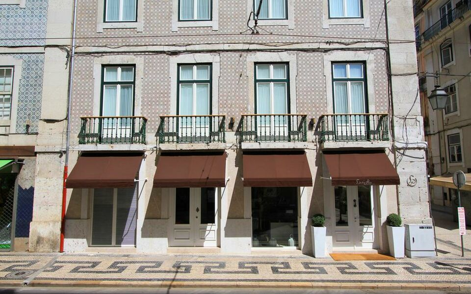 Lisboa prata boutique hotel a design boutique hotel for Design boutique hotel lisbon