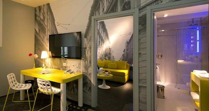 Th street duomo a design boutique hotel milan italy for Boutique hotel milano