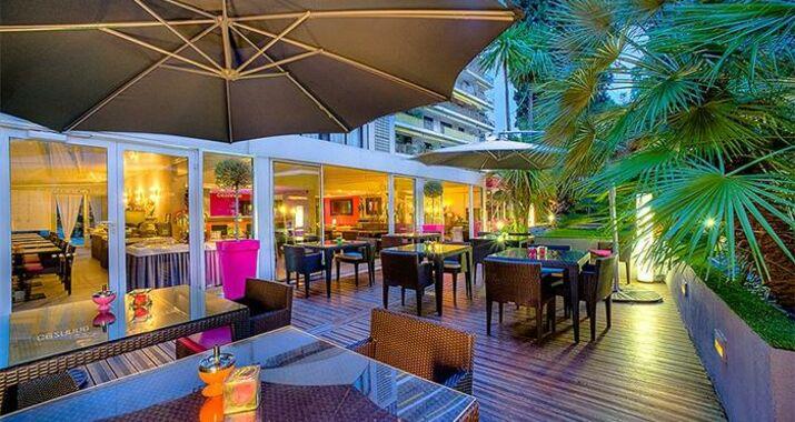 H tel c zanne a design boutique hotel cannes france for Hotel cezanne boutique hotel